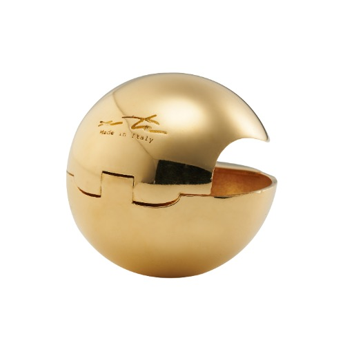 [Sfera] Earring, Gold color (2pcs)