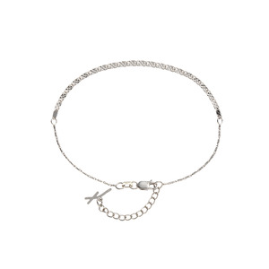 [Piatto] White Anklet