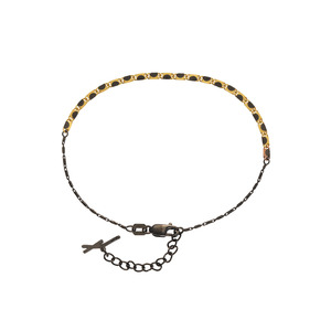 [Lumaca] Yellow & Black Anklet