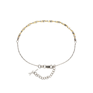 [Fiamma] Yellow & White Anklet