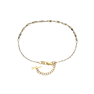 [Fiamma] Yellow & Black Anklet