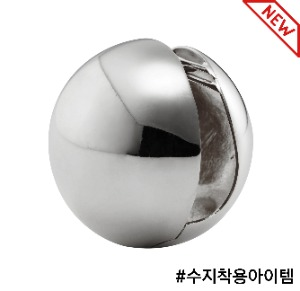 [Sfera] Earring, Silver color (1pc)
