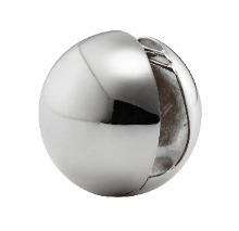 [Sfera] Earring, Silver color (2pcs)